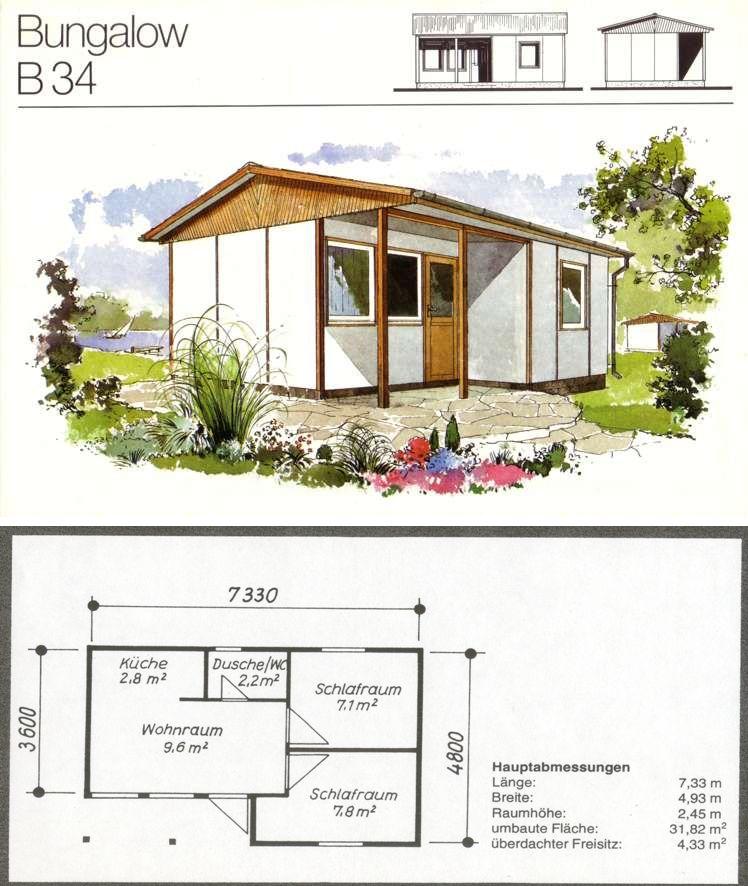 bungalow bauplan haus design und m bel ideen. Black Bedroom Furniture Sets. Home Design Ideas